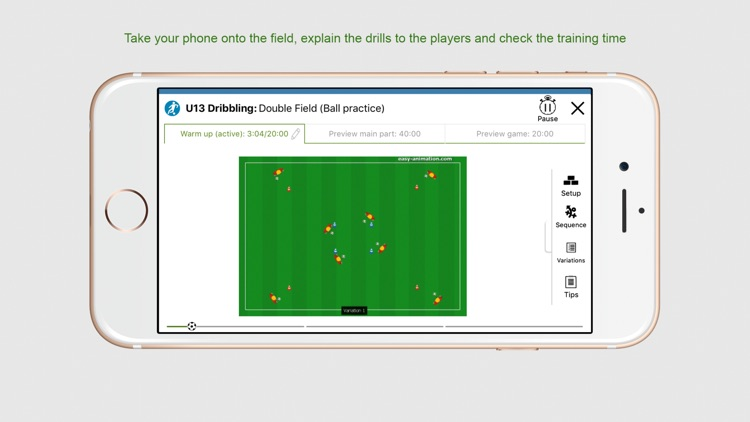 Soccer Technique Training