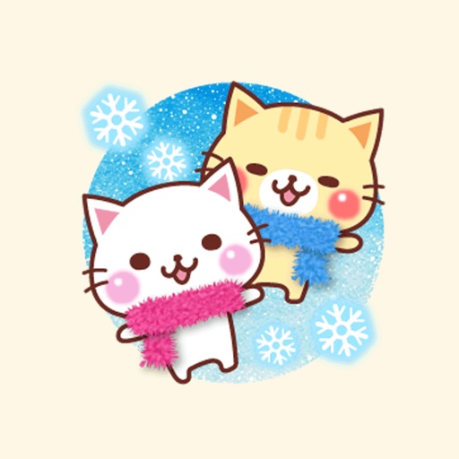 A lot of cats in the winter