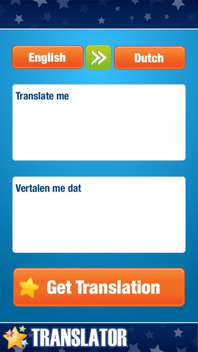 English to Dutch Translator.