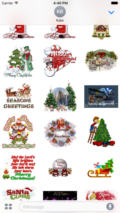 Christmas Messages with GIF