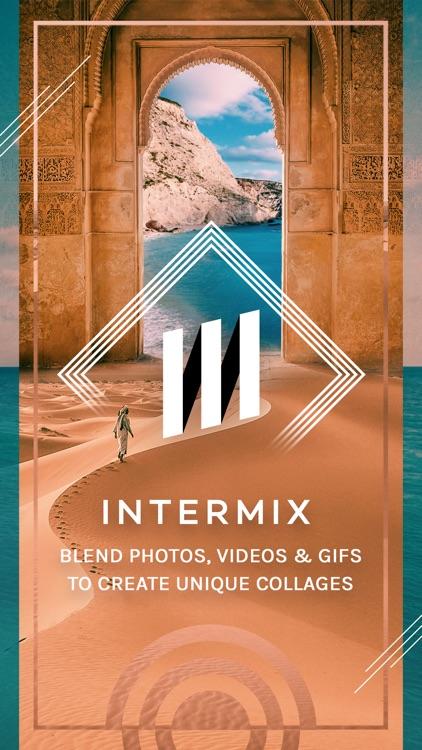 Intermix Collage Maker - Photo Editor & Blender