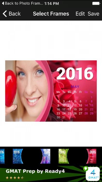 2017 Calendar Photo Frames 3D New Online HD Editor by Mahendra Kumar ...
