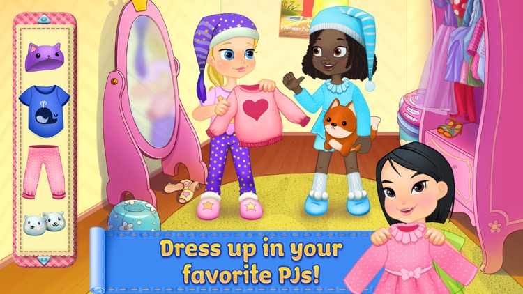 PJ Party Girl Sleepover screenshot-4