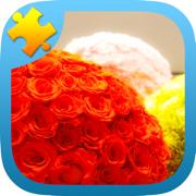 花园 花朵 七巧板拼图 适合女生玩的游戏