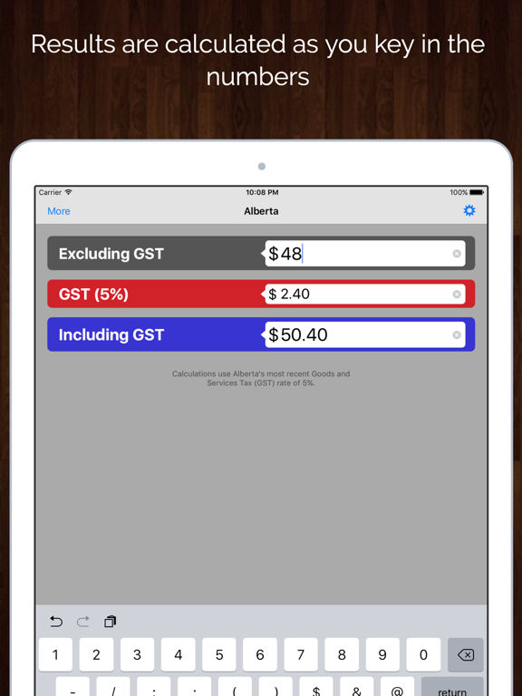 Hst Tax Calculator >> Canada Sales Tax Calculator Gst Hst Pst Qst App Price Drops