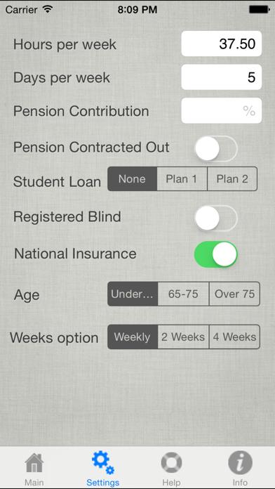 UK Salary Calculator 2019-20 screenshot two