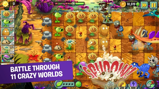 Plants vs zombies 2 on the app store screenshots voltagebd Image collections