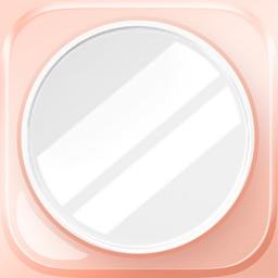 Pocket Makeup Mirror-Fullsceen mirror for makeover