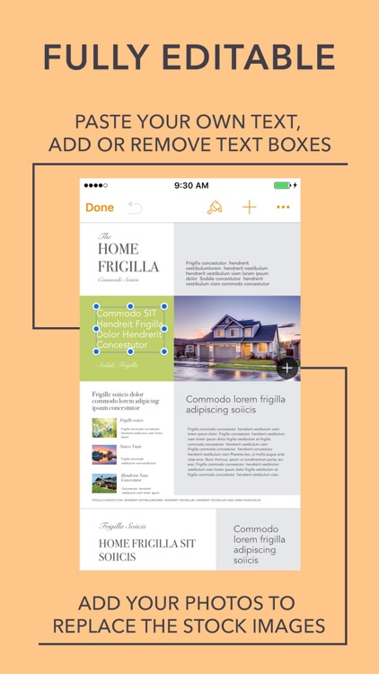 Templates for Pages Edition