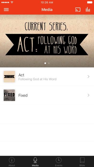 Mission Church Appleton screenshot 2