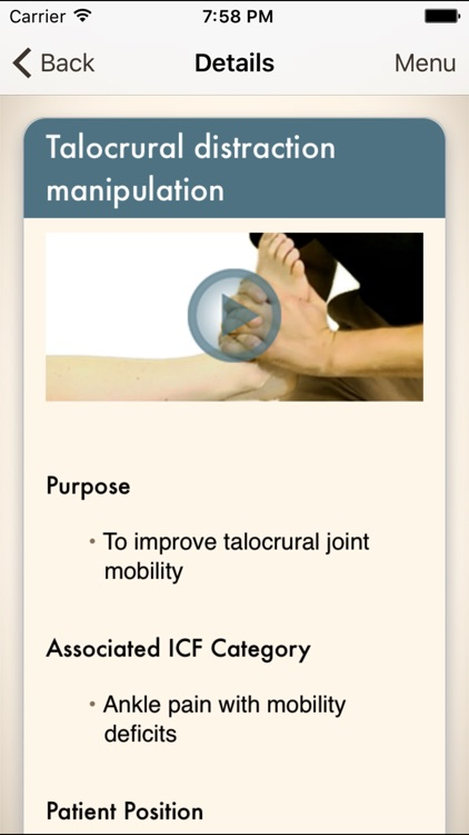 Clinical Pattern Recognition: Ankle and Foot Pain screenshot-4