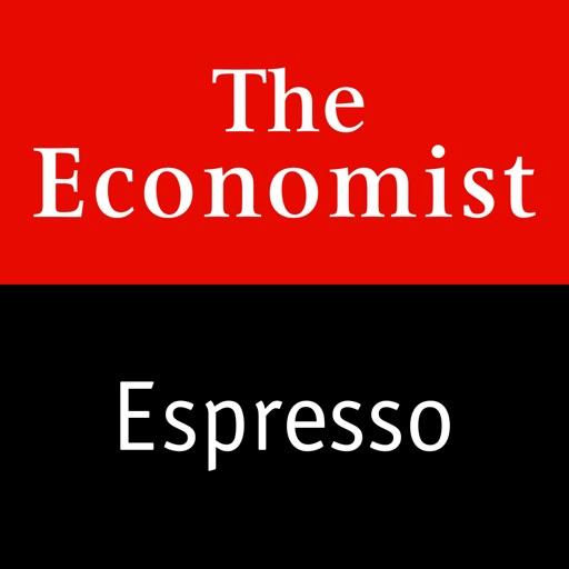 The Economist Espresso - Brief Morning News Update app logo
