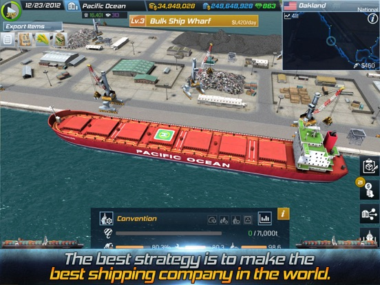 Screenshot #4 for Ship Tycoon