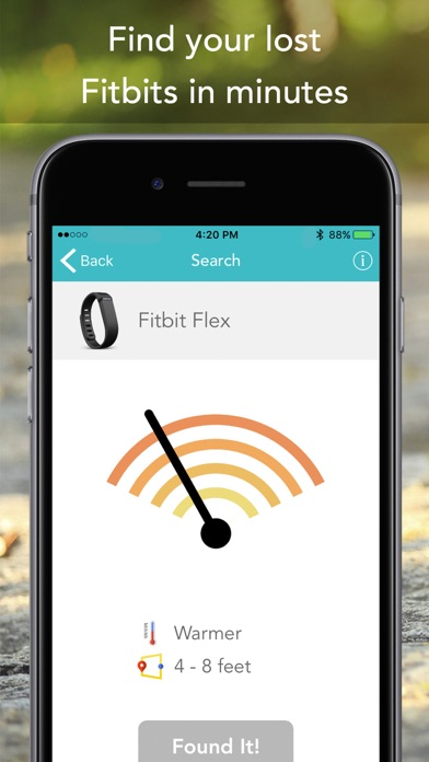 Find My Fitbit - Fitbit Finder For Lost Fitbits Screenshot
