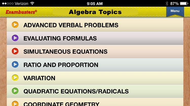 SAT 2 Math Levels I-II Prep Flashcards Exambusters