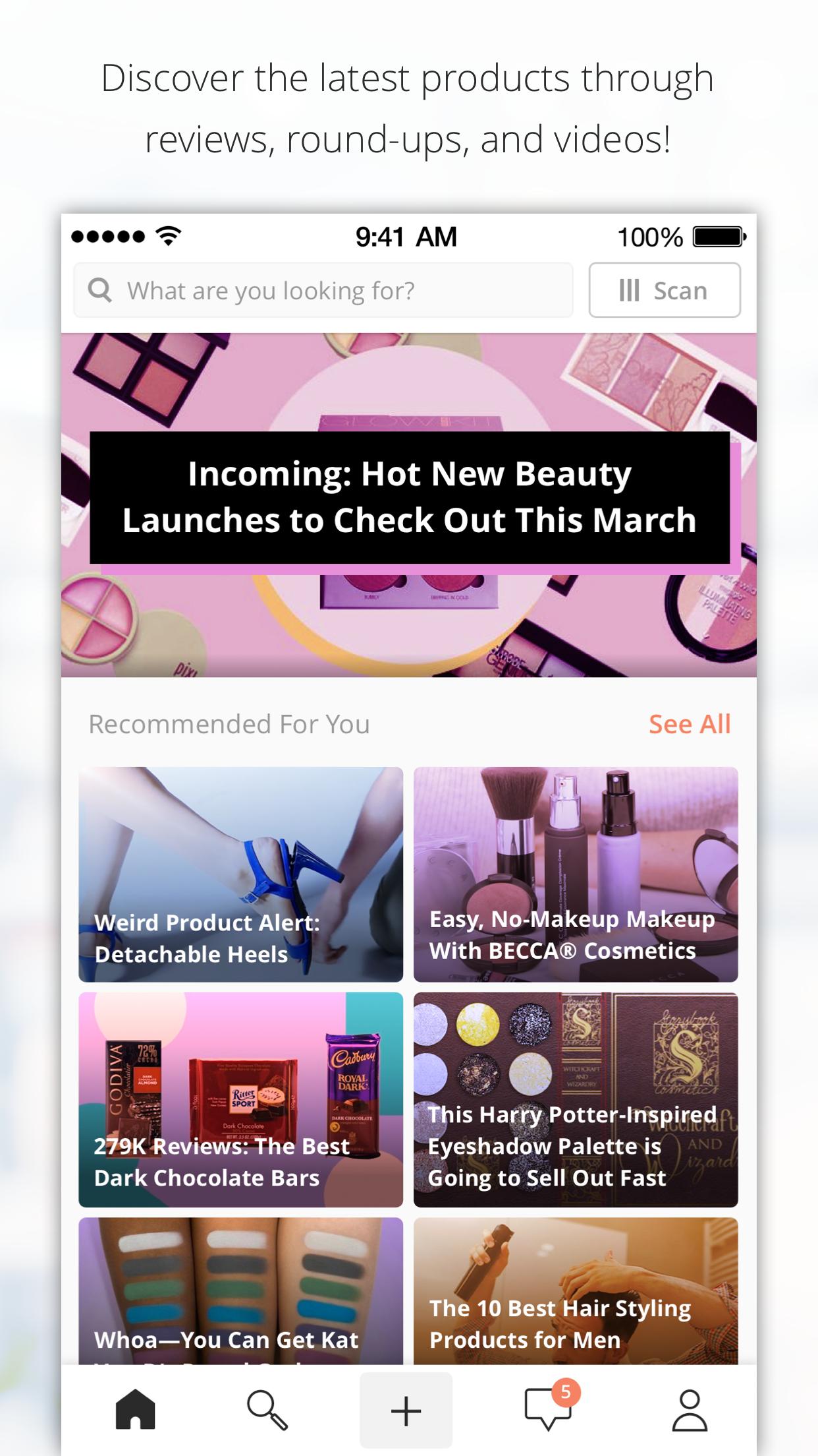 Influenster: Reviews & Deals Screenshot