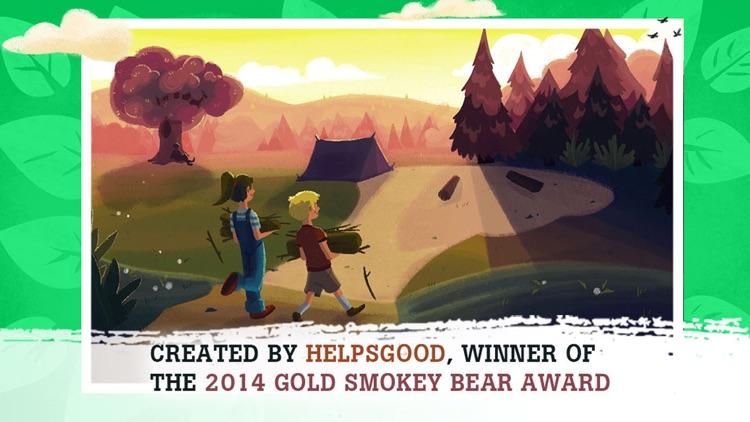 Smokey Bear and the Campfire Kids Book screenshot-4