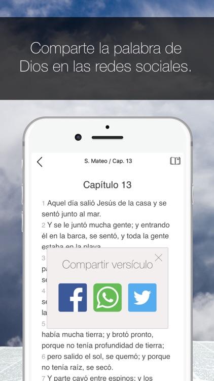 Biblia de las Américas screenshot-3