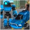 未来派机器人警察 - 飞行汽车模拟器3D