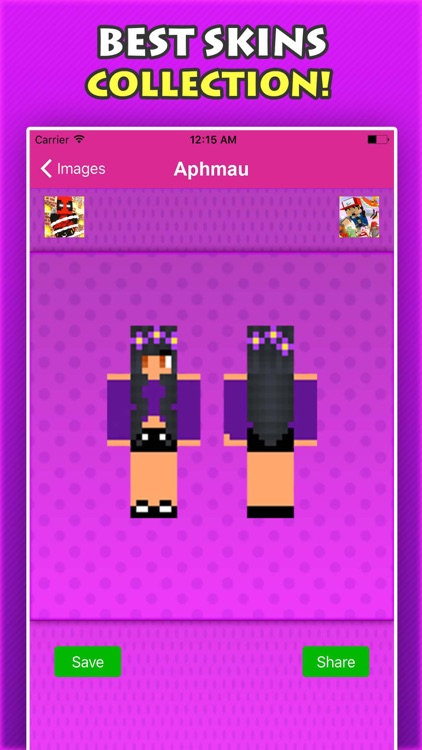 NEW APHMAU SKINS FREE For Minecraft Pocket Edition screenshot-3
