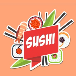 Sushi Stickers Sushi Emojis For Sushi Lovers By Ilya Moskovoy