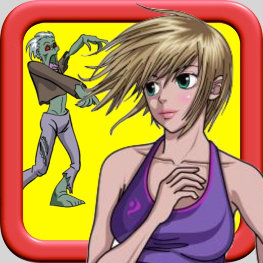 Girl vs Zombie: Running And Chasing Premium