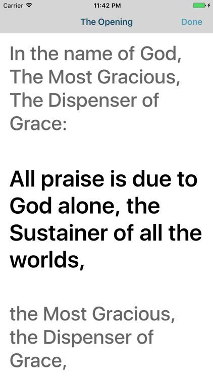 Prayer in English