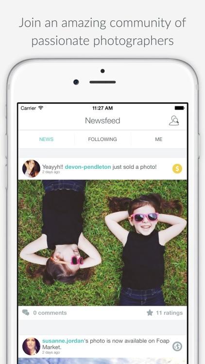 Foap - sell your photos screenshot-0