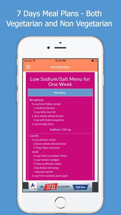 Low Sodium Foods screenshot-3