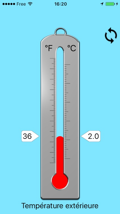 Thermometer - Outside temperature