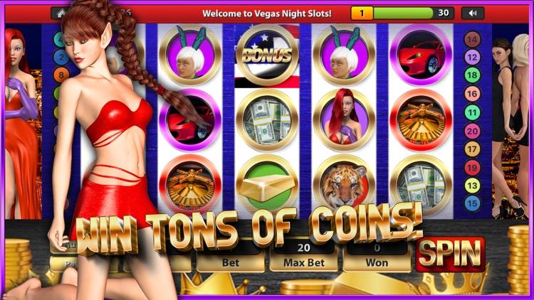 Vegas Night SLOTS Casino HD - Play 1000000 Coins!