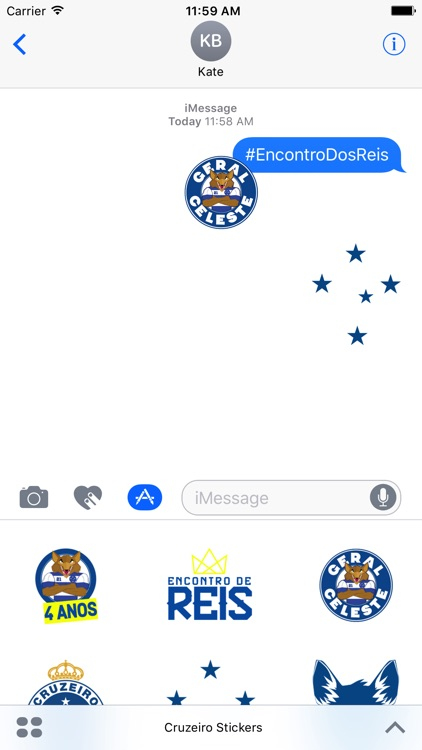 Cruzeiro Stickers