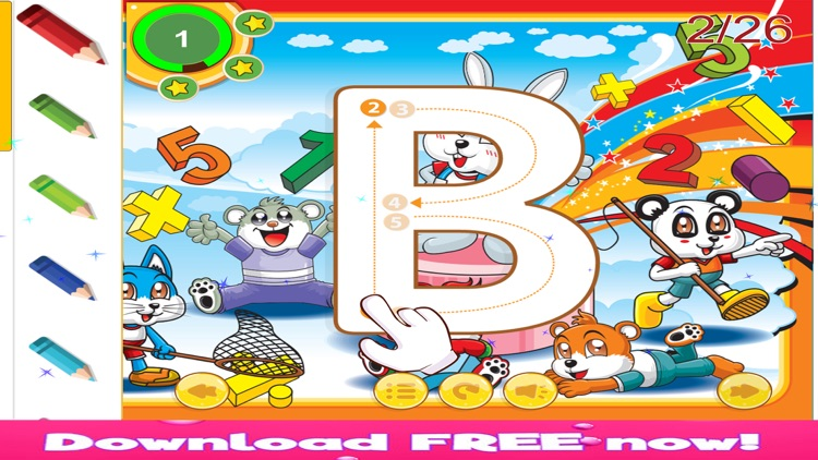 ABC Tracing English Alphabet Letters Preschool