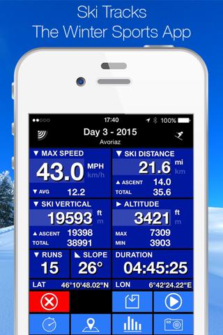 Ski Tracks screenshot 1