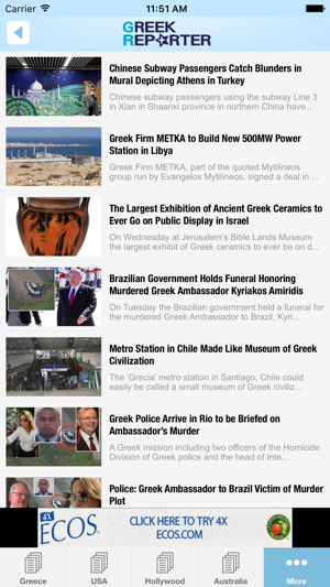 Greek Reporter - Greek news from around the globe! on the App Store