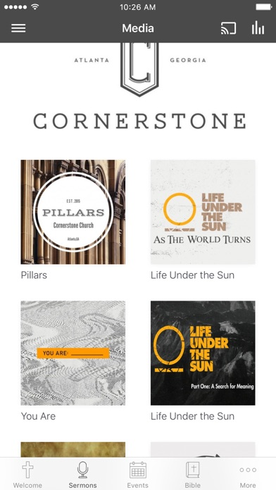 Cornerstone Church ATL screenshot 2