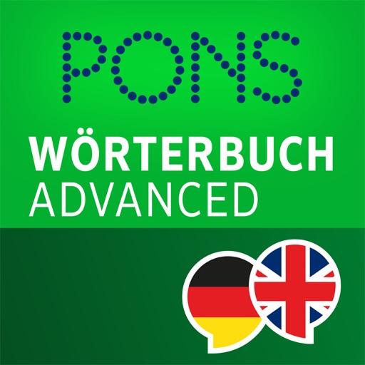 Dictionary German - English ADVANCED by PONS