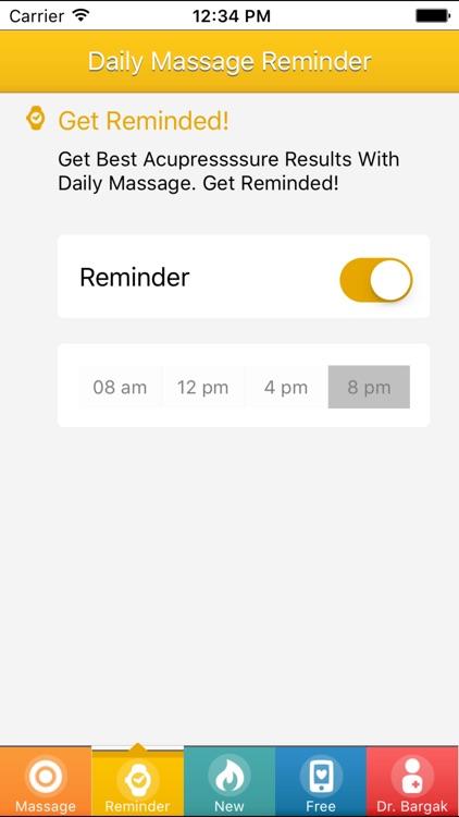 Allergy Acupressure Self-Treatment Massage Points screenshot-4