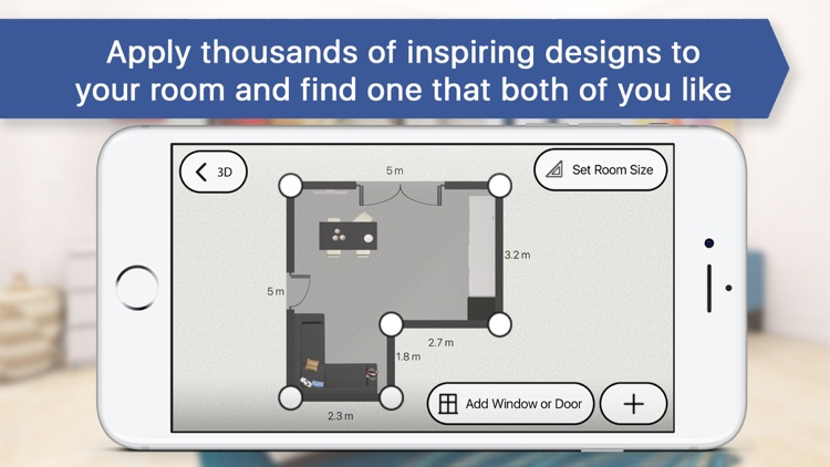 3D Bedroom for IKEA - Room Interior Design Planner screenshot-3