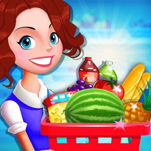 Supermarket Grocery Girl - Kids Shopping Games