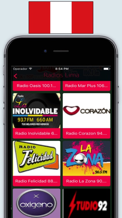 Radios Perú FM & AM / Live Radio Stations Online screenshot-1