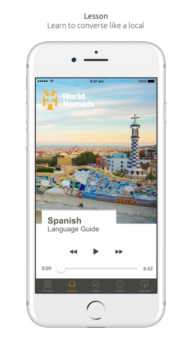 Spanish Language Guide & Audio - World Nomads screenshot three