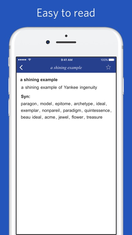 English Thesaurus of popular words and phrases