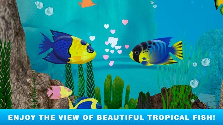 My Virtual Fish Tank Simulator: Aquarium 3D screenshot-3