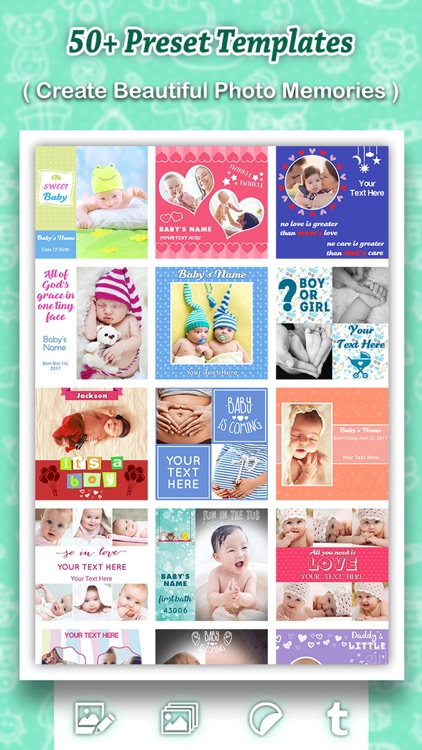 Baby Photo Shoot : Beautify Baby Milestones & Pics screenshot-4