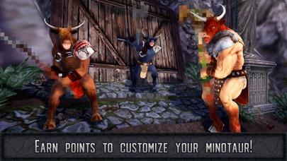 Minotaur Labyrinth: Human Attack Simulator 3D screenshot three