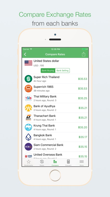 ExchangeTHB - Thai Baht Exchange Rates screenshot-4