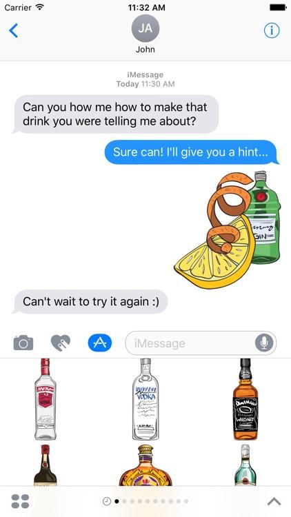 Drinking and Liquor Stickers screenshot-3