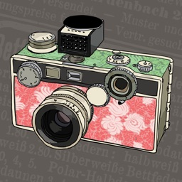 Vintage camera photo - best cool pic maker magic editor studio