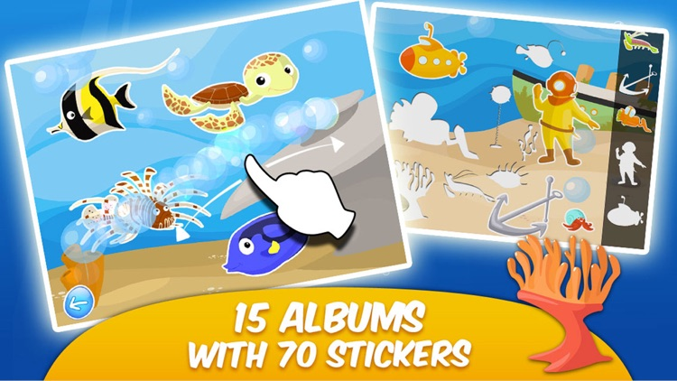 Toddler & Kids Learning Games Age 3+ Free: Ocean 2 screenshot-4